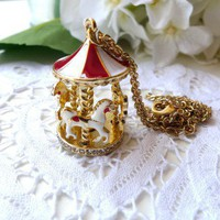 Merry-go-round Necklace - Back in stock - Retro, Indie and Unique Fashion