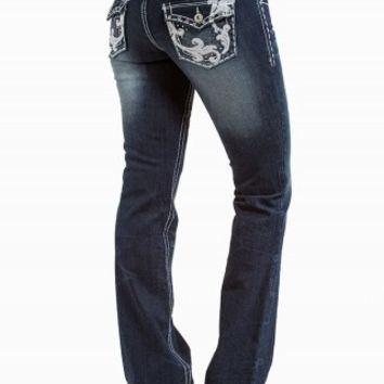 DAKOTA BOOT SCROLL PREMIUM JEANS