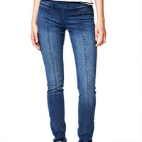 Beau Seamed Jeans - Medium Blue