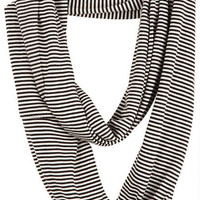 Mini Stripe Infinity Scarf -