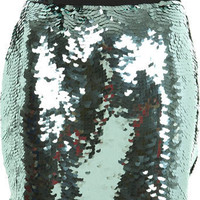 Aqua Green Sequin Mini - Clothing - New In - Miss Selfridge