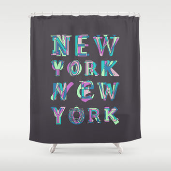 NYC Shower Curtain by Fimbis