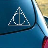 Harry Potter Inspired Deathly Hallows Vinyl by NothinbutVinyl