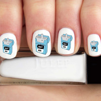 Fault in our Stars Metaphor Cigarette Pack Nail Decals-24 ct.