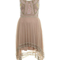Embellished Hanky Hem Dress - View All - Dresses - Clothing - Miss Selfridge