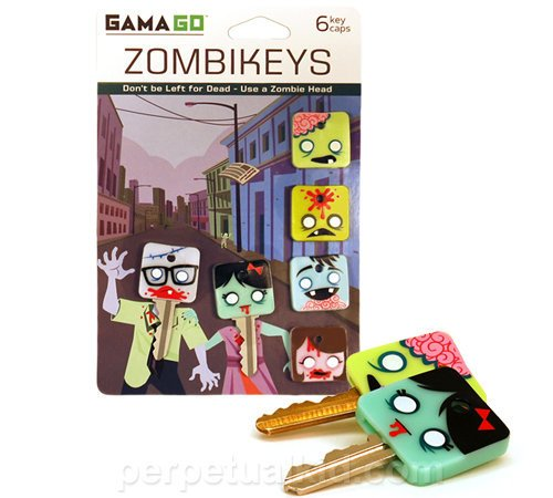 ZOMBIKEYS KEY COVERS