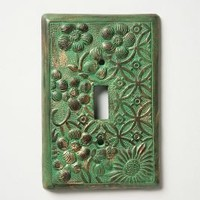 In Perpetuity Switchplate-Anthropologie.com