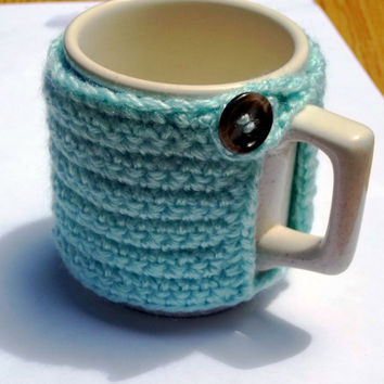Coffee Cup Cozy set of 3 by ACraftyObsession on Etsy