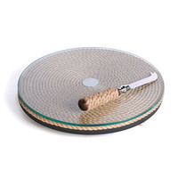 Roped Knife and Tray Set - Wedding and Event Serveware