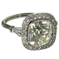 Stunning Art Deco diamond ring - Elle W Collection