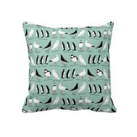 wordy birdy pillows from Zazzle.com