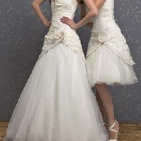 Buy discount Elegant Beautiful Wedding Dress With First-class Fabric And Exquisite Handwork(for the full length style) at dressilyme.com
