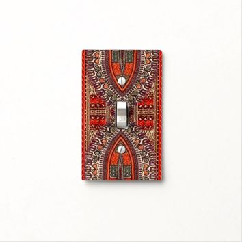 Indian Style Light Switch Plate