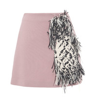 Fringe Pineapple Skirt by MSGM - Moda Operandi