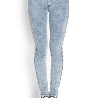 Acid Wash Jeggings