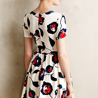 Painted Poppies Dress