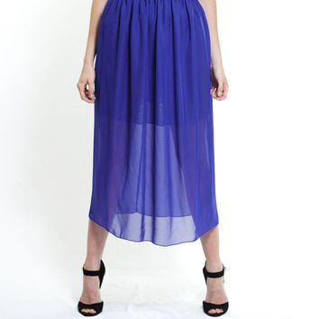 The Chiffon Maxi Skirt
