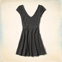Cabrillo Beach Skater Dress