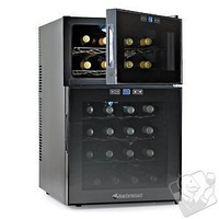 Wine Enthusiast Silent 24 Bottle Touchscreen Wine Refrigerator (2-Temp) - Wine Enthusiast