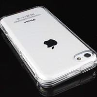 5C Phone Cases, 5C cases [Soft Jelly]- iPhone 5C Soft Skin TPU Case For The New iPhone 5C - Clear Soft Jelly Protector - Retail Packaging By Cable and Case
