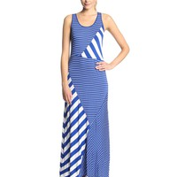 Kensie Women's Striped Maxi Dress