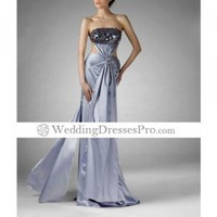 Sheath/ Column Strapless Floor-length Silk-like Satin Evening/ Prom Dress TPDWD236 [TPDWD236] - $167.49 : wedding fashion, wedding dress, bridal dresses, wedding shoes