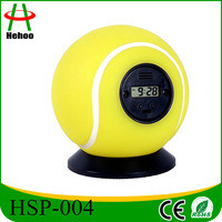 Source alarm clock with Tennisball shape sport clock on m.alibaba.com
