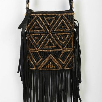 Fringe Mini Crossbody Bag
