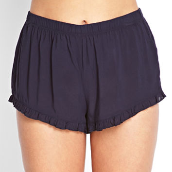 Soft Ruffled Tap Shorts