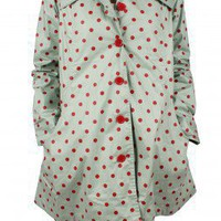 Avoca Anthology Polka Swing Mac, Blue  Red :: Bohemia