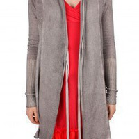 Avoca Anthology Fumi Long Cardigan, Jet :: Bohemia