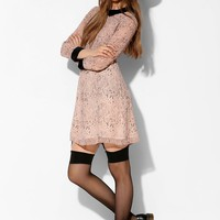 Little White Lies Printed Collared Dress - Urban Outfitters