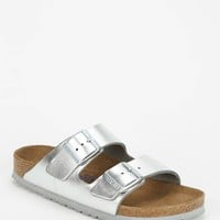 Birkenstock Arizona Soft Footbed Metallic Leather Sandal - Urban Outfitters