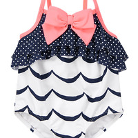 Wavy Ruffle One-Piece Swimsuit at Gymboree