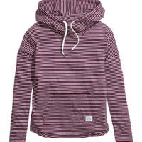 Striped Hooded Top - from H&M