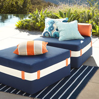 Katharine Webster Eos Lounger & Ottoman