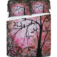 DENY Designs Home Accessories | Madart Inc. &quot;Cherry Blossoms&quot; Sheet Set