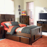 Francisco Twin Size Panel Bed