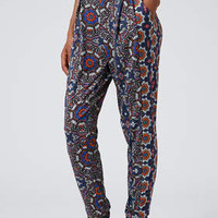 KALEIDOSCOPE JERSEY TAPERED TROUSERS