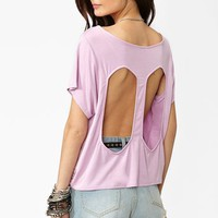 Diamondback Tee in Lilac