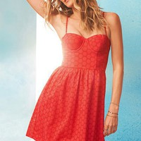 The Corset Dress in Eyelet - Victoria's Secret