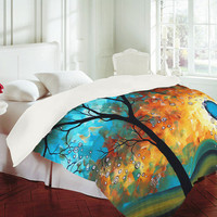"DENY Designs Home Accessories | Madart Inc. ""Aqua Burn"" Duvet Cover"