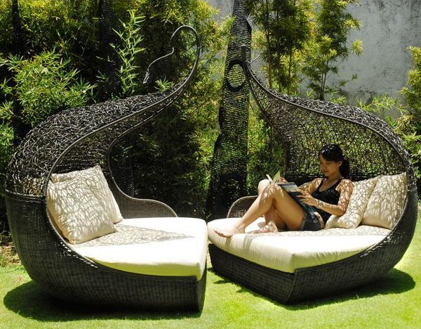Neoteric Adam & Even Outdoor Wicker Chair - HomeInfatuation.com.