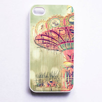 Iphone Case Swingin'  Carnival Swing Girly by SSCphotographycases
