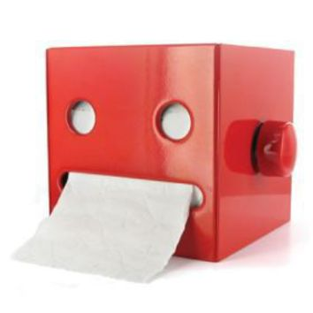 General Robots - Robotan Toilet Paper Holder red - Airyusha Robotan Toilet Paper Holder red
