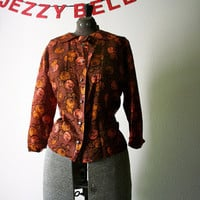 50s Blousemaker Blouse by JezzyBelles on Etsy