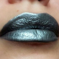 Dark silver/Metallic Gray  Lipstick - Nourishing - Quicksilver - All Natural