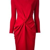 Lanvin Jersey Drape Dress