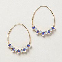Sparked Gem Hoops