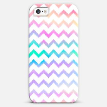 Bubble Ikat Chevron iPhone 5s case by Organic Saturation | Casetify